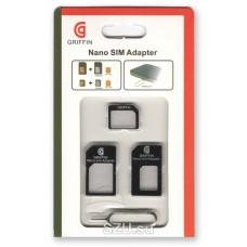 Переходник для сим-карты с Nano-Sim и Micro-Sim